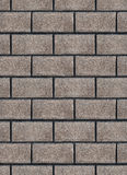 Background of textured gray brick wall Stock Photos
