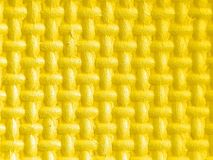 Plastic figures in yellow 3d with texture. Background, textured, material, 3d, abstract, color, pattern, design, surface Stock Images
