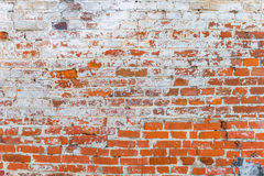 Background textured old brick wall Royalty Free Stock Photo