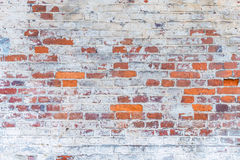 Background textured old brick wall Royalty Free Stock Photography