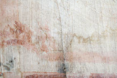 Background textured old wood splat have scratch. Paint off Royalty Free Stock Photography