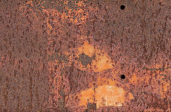 Background Patchy Textured Rusty Metal  Stock Photo