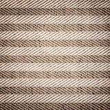 Background of textured textil brown white Stock Photography