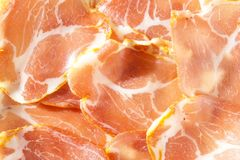 Background textures cured loin Royalty Free Stock Photo