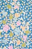 Background of Thai style fabric. Royalty Free Stock Image