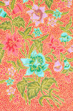 Background of Thai style fabric. Royalty Free Stock Photography