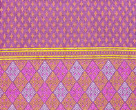 Background of Thai style fabric pattern Royalty Free Stock Images