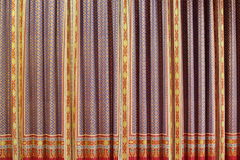 Background of Thailand pattern fabric Royalty Free Stock Photo