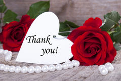 Background with Thank You Royalty Free Stock Images