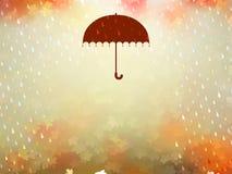 Background on a theme of autumn. EPS 10 Stock Photos