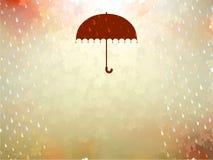 Background on a theme of autumn. EPS 10 Stock Photo