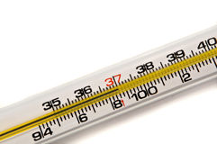 Background thermometer. Royalty Free Stock Image