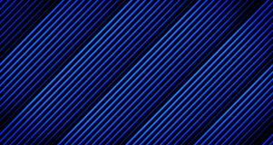 Background Thick Line Animation Fading Away in Blue Tones on Black from 4k Animation Frame. Background Thicker Line Animation Fading Away in several Blue Tones Stock Photo