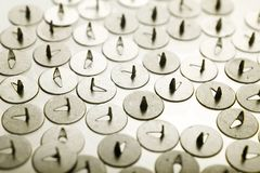 Background from thumbtacks Royalty Free Stock Photos
