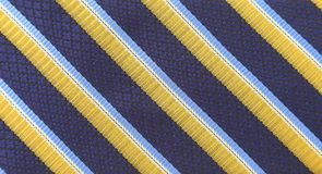 Background of tie a colorful striped. Royalty Free Stock Images