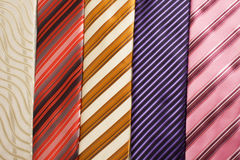Background from ties Stock Photo