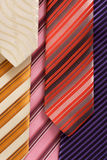 Background from ties Royalty Free Stock Image