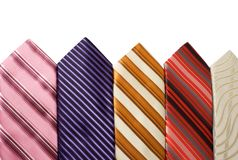 Background from ties Royalty Free Stock Images