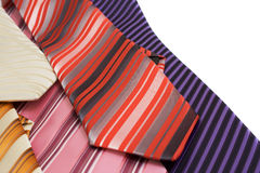 Background from ties Stock Images