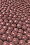 Background with tight pearls. Representation of overpopulation and social pressure Stock Photography