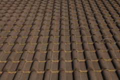 Background tile roof Royalty Free Stock Image