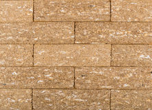 Background from tiled brown crispbread Stock Image