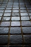 Background of tiles made of square blocks Stock Photos