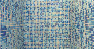 Background tiles by pool Royalty Free Stock Photo