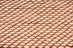 Background tiles roof, brown, earthen, clay color stock images