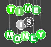 Background time is money Royalty Free Stock Images