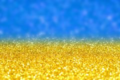Glitter in bright light. Stock Photo