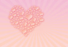 Background to the holiday St Valentines Day Royalty Free Stock Images