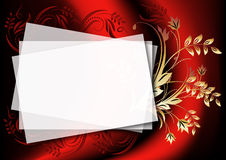 Background to insert text or photo. Magic floral background to insert text or photo Stock Images