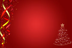 Background to New year  or Christmas Royalty Free Stock Image