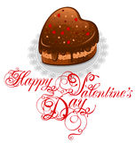 Background to Valentine's Day Royalty Free Stock Photos