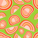 Background with tomatoes. Vector Royalty Free Stock Image