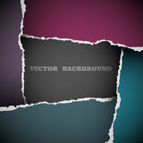 Background of torn paper Royalty Free Stock Images