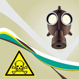 Background toxic danger Stock Photography