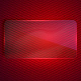 Background with a transparent glass banner Stock Photos