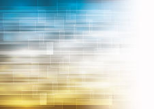 Background with transparent highlighted squares Stock Images