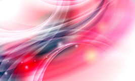 Background with transparent objects and lights Royalty Free Stock Photography
