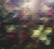 Background triangle graphic Royalty Free Stock Image