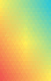 Background Triangle Vector Gradient Summer Stock Photo