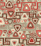 Background with triangles. Vector illustration Royalty Free Stock Photo