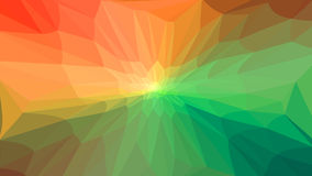 Background with triangles of different colors. Raster . Royalty Free Stock Photos