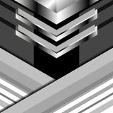 Background triangles grey. Triangles background abstract grey, Vector Illustration Stock Image