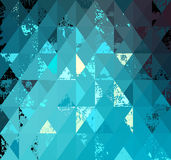 Background of triangles Stock Image