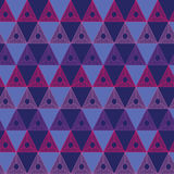Background of triangles Royalty Free Stock Photos
