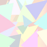 Background of triangles Vector. Abstract background of triangles, colorful Stock Photos