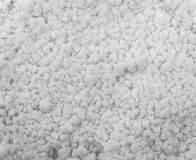 Background of true snow texture. Background of true snow texture in white tone Stock Photo